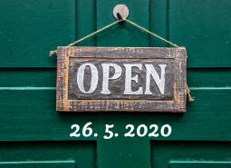 Termín otevření salonu 26. 5. 2020