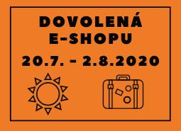 Dovolená e-shopu Dermitage (20. 7. – 2. 8. 2020)