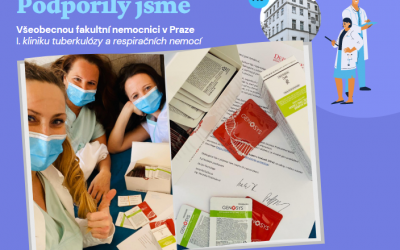 Pomohli jsme zdravotníkům VFN v Praze
